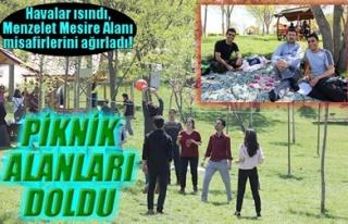 PİKNİK ALANLARI DOLDU