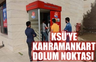 KSÜ'YE KAHRAMANKART DOLUM NOKTASI
