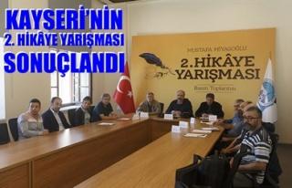 KAYSERİ'NİN 2. HİKÂYE YARIŞMASI SONUÇLANDI