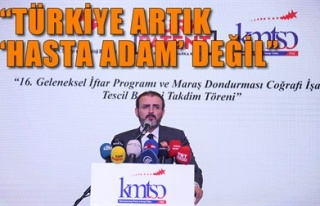 'TÜRKİYE ARTIK 'HASTA ADAM' DEĞİL'