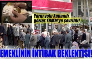 EMEKLİNİN İNTİBAK BEKLENTİSİ!