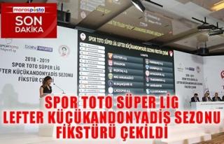 SPOR TOTO SÜPER LİG LEFTER KÜÇÜKANDONYADİS SEZONU...