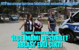 GAYBUBET EVİNDE YAKALANAN 'İLÇE İMAMI VE SOHBET...