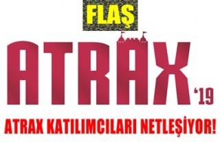 ATRAX'19 FUAR KATILIMCILARI NETLEŞİYOR!