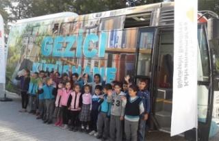 GEZİCİ KÜTÜPHANE SEYRANTEPE'DE