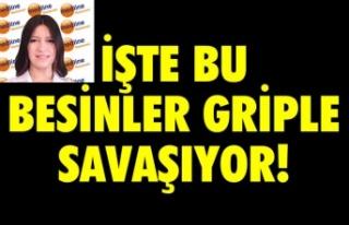 GRİPLE SAVAŞAN 10 BESİN!