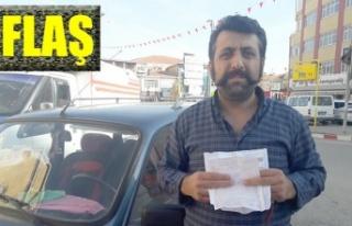 KAHRAMANMARAŞ'A GELMEDEN TRAFİK CEZASI YEDİ!