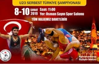 U23 SERBEST TÜRKİYE ŞAMPİYONASI KAHRAMANMARAŞ'TA