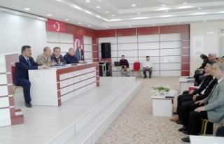 """Büyükşehir'den Elbistan'a """"Muhtarlar Akademisi"""""""