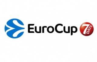 Eurocup'ta kura çekimi gerçekleştirildi