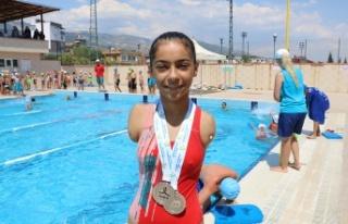 Sevilay'ın hedefi Tokyo 2020 olimpiyatları
