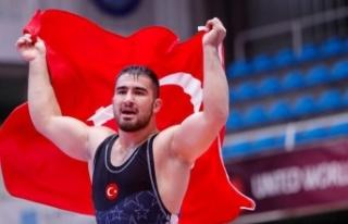 3 bronzdan biri Feyzullah Aktürk'ten geldi