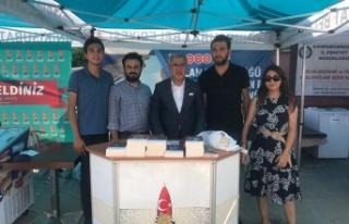KSÜ'de Onikişubat Belediyesi standına yoğun...
