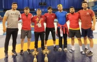 Nedved Turnuvasını 6 madalya ile tamamladık