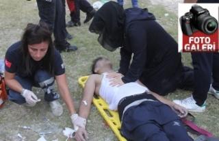 Öldüğüne inanamadıkları çocuklarına kalp masajı...
