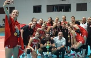 U17 Genç Kız Millilerimiz, namağlup Balkan Şampiyonu