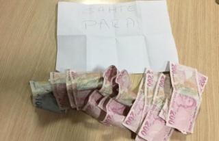 2 bin 300 liralık sahte banknot ele geçirildi