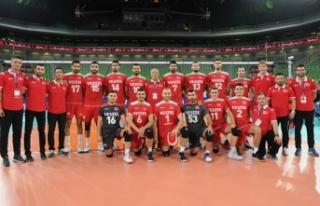 A Milli Erkek Voleybol Takımımız, Rusya'ya 3-1...