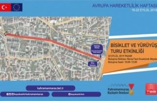 Büyükşehir Belediyesi, bisiklet sürme etkinliği...