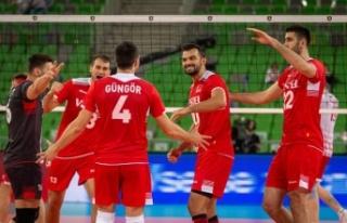 Filenin Efeleri, Belarus'u 3-1 yendi!