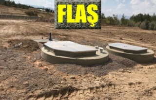 Hasancıklı-Üniversite atık su tesisleri tamamlanıyor