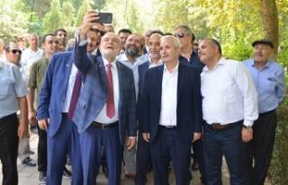 """Karamollaoğlu: """"Başkanlarımız birbirlerine..."""