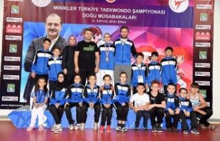Minikler Türkiye Taekwondo Şampiyonası yapıldı