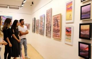 Ressam Mehmet Akif Orçan'ın sergisi