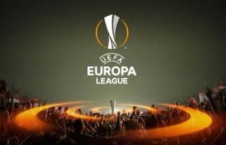 UEFA Avrupa Ligi için sahaya çıkıyorlar