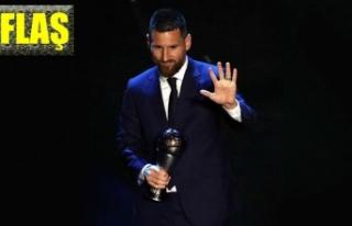 Yılın en iyi erkek futbolcusu: Lionel Messi