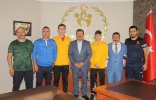 Balkan Güreş Şampiyonasında Sporcu Eğitim Merkezi'nden...