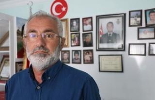 El Bab şehidinin babasından Barış Pınarı'na...