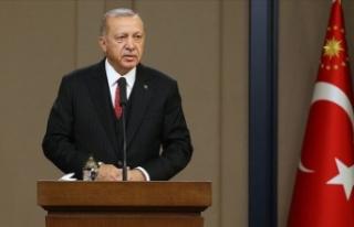Erdoğan: ABD'nin bölgeden çekilme süreci...