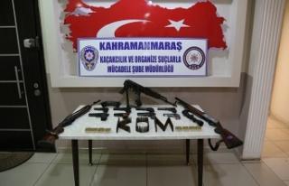 Silah kaçakçılığı operasyonu: 9 şüpheli...