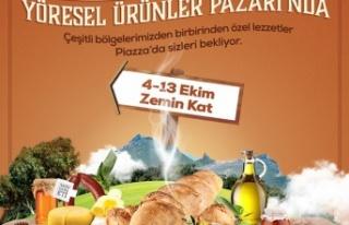 Türkiye'nin lezzetleri Samsun Piazza'da buluşacak