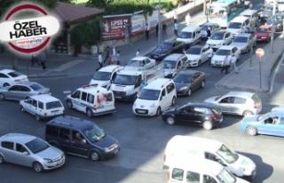 Kahramanmaraş'ta 235 bin 896 araç var!