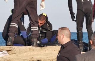 KKTC'de denize düşen gencin cansız bedenine...