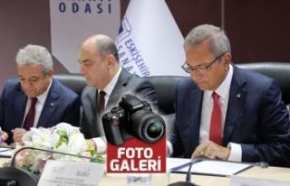 KMTSO, ETO ile işbirliği protokolü imzaladı