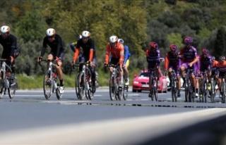 56. Cumhurbaşkanlığı Bisiklet Turu'nun etapları...