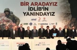 """""""Bir Aradayız, İdlib'in Yanındayız"""""""