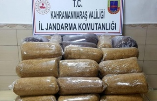 Yol kontrolünde 154 kilo kaçak tütün ele geçirildi