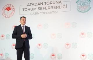 Cumhuriyet tarihinin en kapsamlı yerli tohum seferberliği...