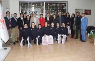 Kabakcı, Elazığ basketbol takımını misafir etti