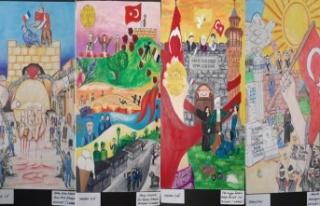 'Kahramanmaraş İstiklal Ruhu' resim yarışması...