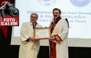 KSÜ Senatosu, TOBB Başkanı Hisarcıklıoğlu'na...
