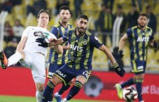 Kupada yarı finale yükselen ilk takım Fenerbahçe...