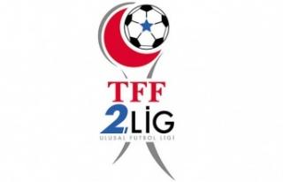 TFF 2.Lig Kırmızı Grup Maçları, Cumartesi günü...