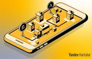 """Yandex Haritalar'dan, """"Rota Optimizasyonu"""""""