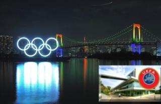2020 Tokyo Olimpiyat Oyunları koronavirüs salgını...