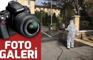 Büyükşehir'den dezenfekte seferberliği